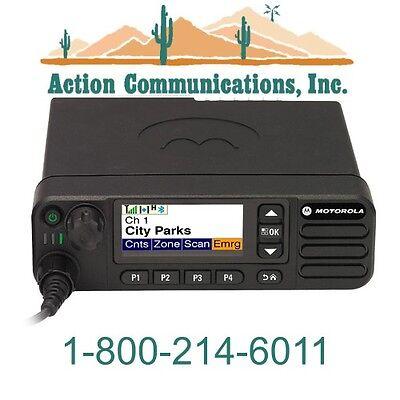 New Motorola Xpr 5550 Uhf 450-512 Mhz 1-40 Watt 1000 Channel Two Way Radio