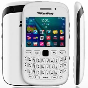 BlackBerry Curve 9320 White Unlocked Smartphone New Condition with Warranty