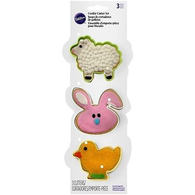 Wilton Cookies (Wilton Cookie Cutter Set Easter & Spring °°  Ostern)