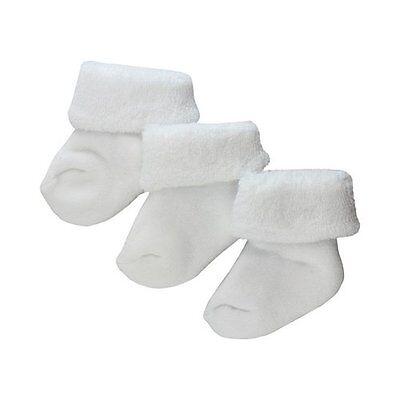 EWERS 3er-Pack Erstlingssocken Baby-Socken Strümpfe NEU weiß