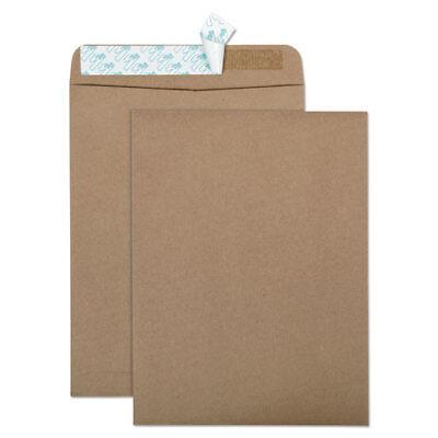 Kraft Recycled Box (100% Recycled Brown Kraft Redi Strip Envelope, 9 x 12, Brown Kraft, 100/Box )