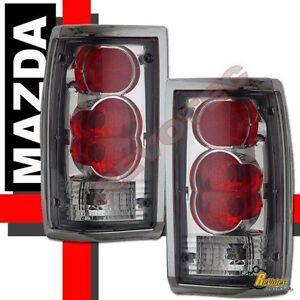 86-93-mazda-b2000-b2200-b2600-pickup-chrome-tail-lights ... mazda b2000 tailight wiring mazda b2000 alternator wiring diagram #3