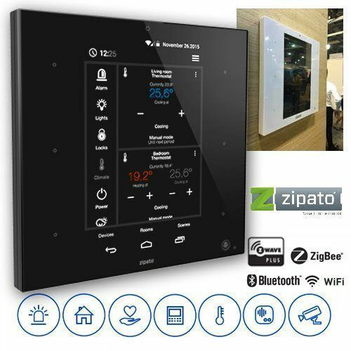 Zipato ZipaTile Z-Wave/Zigbee Home Automation Controller - Color Black
