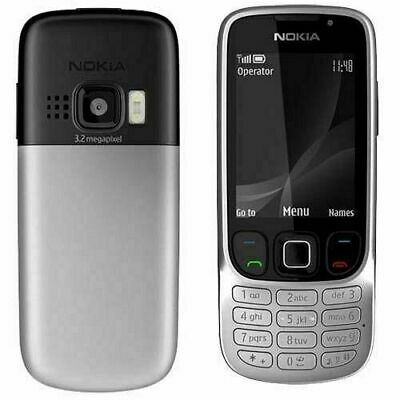 BRAND NEW  Unlocked Nokia Classic 6303i SILVER Camera Stylish Phone-
