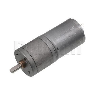 Dc Gear Motor High Torque 25ga 12v 30rpm 370 For Diy Robotics Arduino