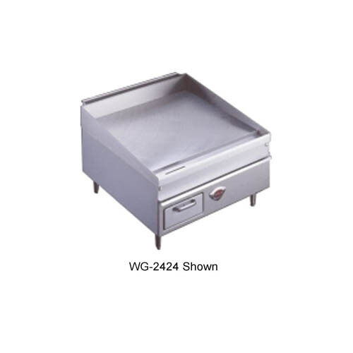 """Wells 3036g 36"""" Natural Gas Thermostatic Countertop Griddle"""