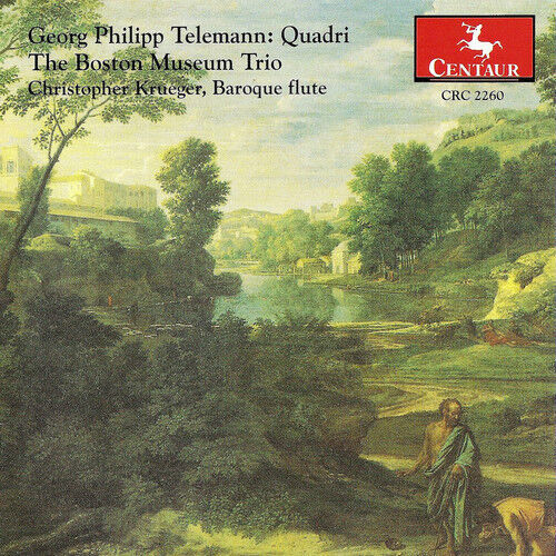 G.P. Telemann - Paris Quartets [New CD]