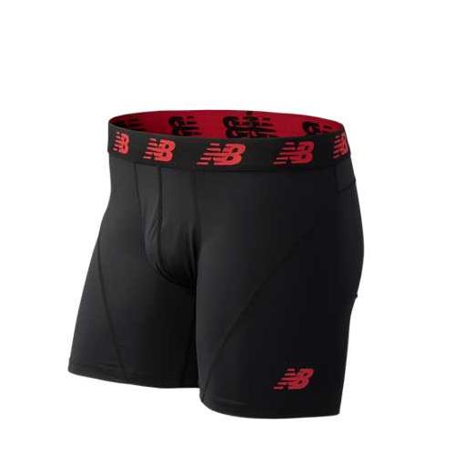 New Balance Men's Moisture Wicking Polyester / Spandex Boxer