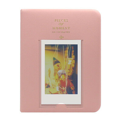 Fuji Instax Photo Album 64 Pockets Pink for Fujifilm Mini Film 7S 8 9 25 50S -