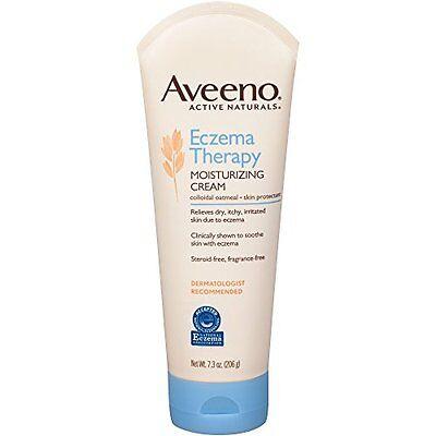 New Aveeno Eczema Therapy Moisturizing Cream 7 3 Ounce