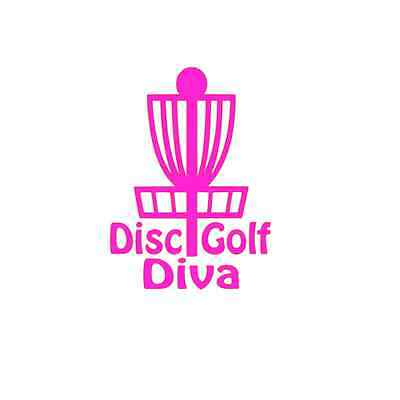 Disc Golf Disc Golf Diva Decals for Yeti, RTIC, Phone, Laptop, Tumblers, Cars