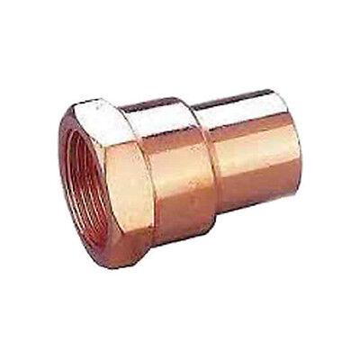 Plumbing Female Npt Threaded X Copper Adapter 1-14 12