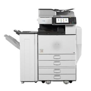 Ricoh High Speed Color Laser Multifunction Printer MP C5502 Copier Scanner Scan to email 11x17 ***PROMO OFFER***