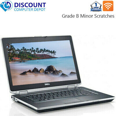 Dell Laptop Latitude Windows 10 Pro Core i5 8GB 128GB SSD DVD Wifi PC Computer