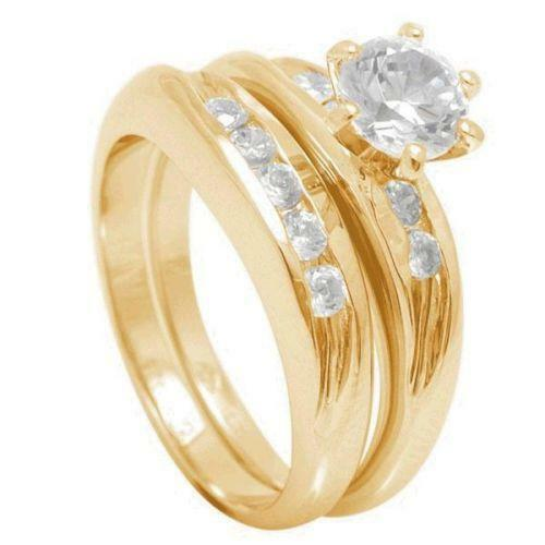 18ct gold wedding rings set ebay