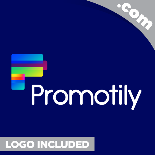 Promotily.com Is A Cool Brandable Domain For Sale Godaddy MARKETING Premium - $125.00