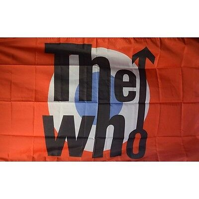 The Who 3 x 5 Banner Flag Rock Band
