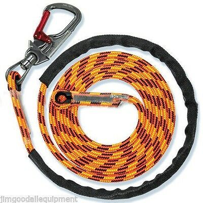 Flipline Non Steel For Tree Climber 716 X 15 Blaze 24 Strand Swivel Snap
