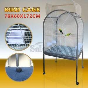 Large Stand-Alone Pet Bird Cage Parrot Budgie Canary Aviary Thomastown Whittlesea Area Preview