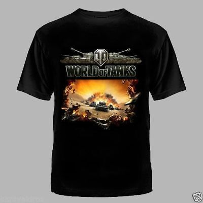 SALE 🔥🔥🔥  New  World of Tanks T-Shirt Best Price