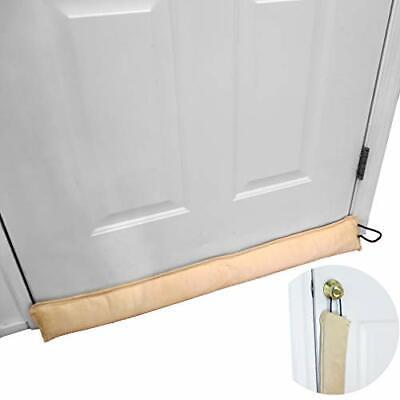 Evelots Door Window Draft Stopper Hanging 36 Inches  Block Cold Bug Dust Set 2