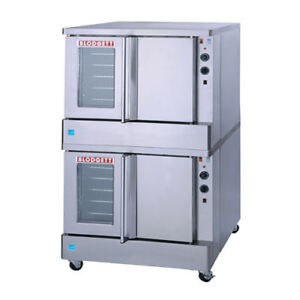 BLODGETT GAS CONVECTION OVENS- Double