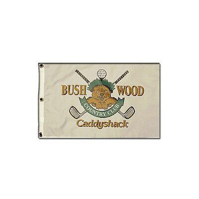 Country Club Golf Pin Flag (Caddyshack Bushwood Country Club Gopher Logo Replica 12 x 21 Golf Pin)