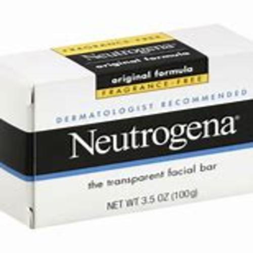 Neutrogena The Transparent Facial Bar Original Formula, 3.50