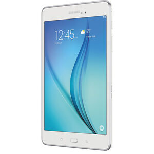 "Samsung Galaxy Tab A (SM-T350) 8"" 16GB Android Tablet - White"
