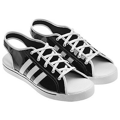 NEW~Adidas JEREMY SCOTT SANDALS CHIC sneaker teddy SlingBack Shoes~WOMENS size 7