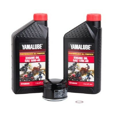 Tusk / Yamalube Oil + Filter Change Kit YAMAHA GRIZZLY 700 KODIAK 700 2016-2017 for sale  Shipping to South Africa