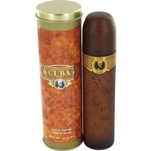 CUBA GOLD * Fragluxe * men's cologne * 3.3 / 3.4 oz * BRAND