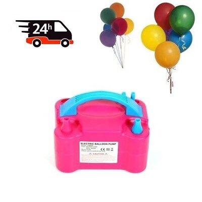 Ballonpumpe 600W Elektrische Ballonaufblasgerät Aufblasgerät für Luftballons TOP ()