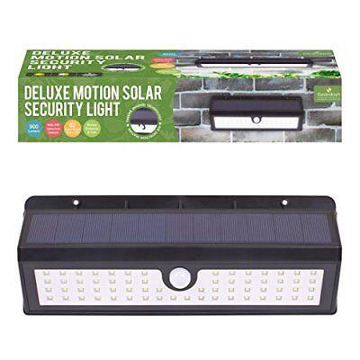 GardenKraft 13920 Motion Sensor LED Solar Light - Black