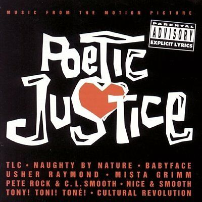 Pac-cd (Poetic Justice (1993) TLC, Babyface, Terri & Monica, 2Pac.. [CD])