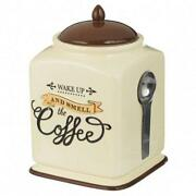 Ceramic Coffee Canister