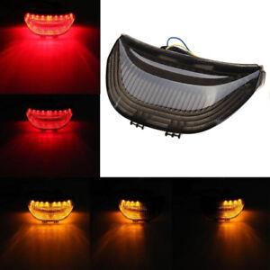 For Honda CBR 600 RR LED Tail Light Smoke Lens Integrated Turn Signals 2003-2006