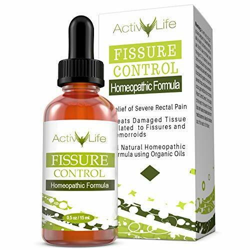 Anal Fissure and Hemorrhoid Control - Organic Formula for ...