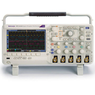 Tektronix Dpo2024b 200 Mhz 4-ch 1gss Digital Phosphor Oscilloscope