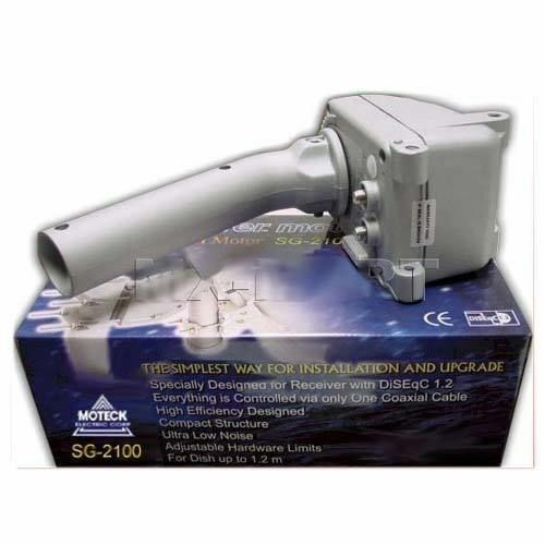 MOTECK SG-2100 SATELLITE DISH MOTOR FTA HH SG2100 ROTOR