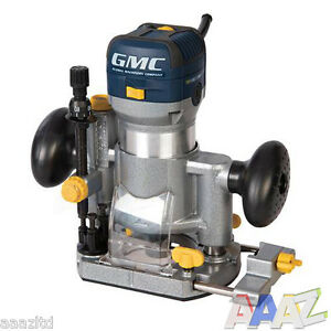 GMC 710w Plunge & Trimmer Router 1/4