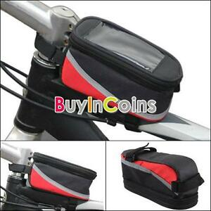 Cycling-Bike-Bicycle-Waterproof-Frame-Pannier-Front-Cell-Phone-Tube-Bag-Case-SY