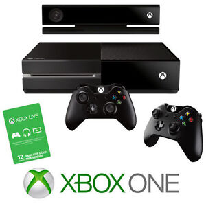 TRADE HUGE GAME BUNDLE 4 AN XBOX ONE ₩ 2 CONTROLLERS & KINECT Cambridge Kitchener Area image 1