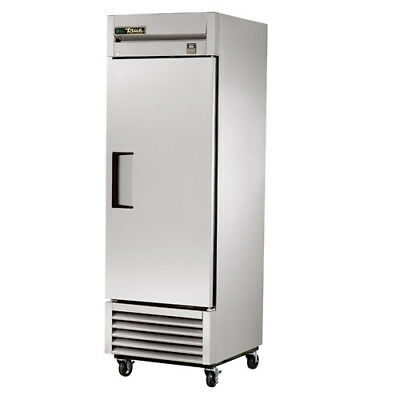 True Ts-23f Stainless Reach-in Freezer 1 Door 23 Cu. Ft. Right Hinged