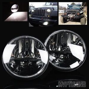 """7"""" Round Hi-Power LED Crystal Headlights with extra 10% OFF"""
