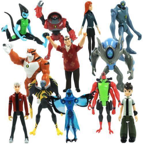Ben 10 Alien Force Figures eBay