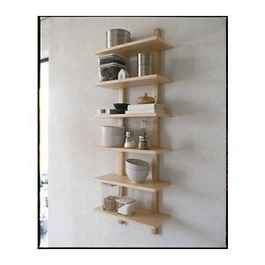 IKEA a parete scaffale värde mensola da cucina 50 x 21 x 140 cm ...