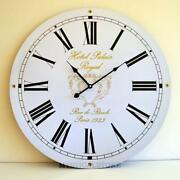 Large Retro Wall Clock