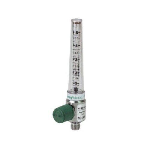 Precision Medical Puritan Bennett Chrome Flowmeter - 1MFA1008