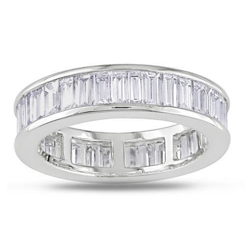 Diamond Eternity Ring Baguette Ebay